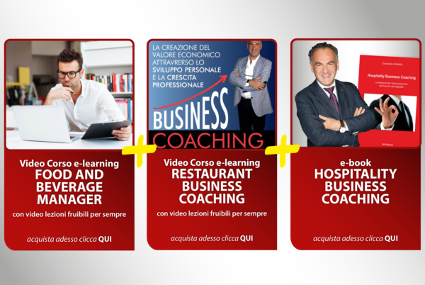 Food and Beverage Manager Business Coaching Hospitality Corso Scontato